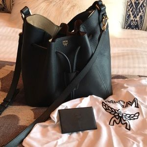 Authentic MCM bag with dust bag